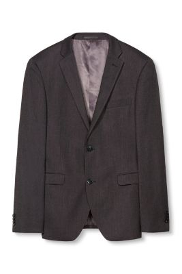 Veston bicolore structuré