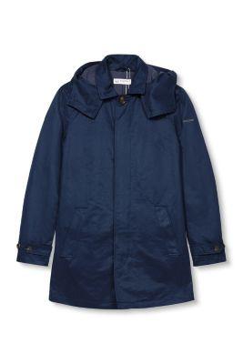 Manteau léger en coton mélangé