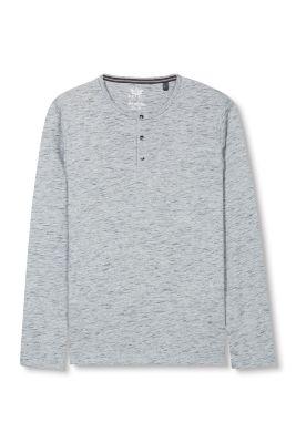 T-shirt en coton mélangé