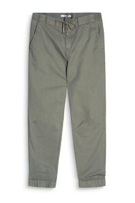 Pantalon de jogging en twill de coton