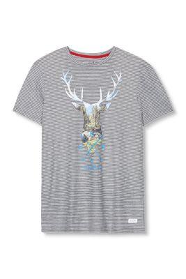 T-shirt en jersey à motif cerf