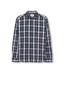 Chemise à carreaux, 100 % coton