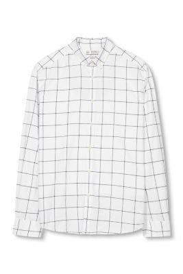 Chemise à col boutonné, 100 % coton