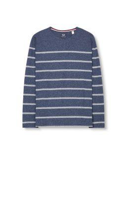 T-shirt manches longues en coton mélangé