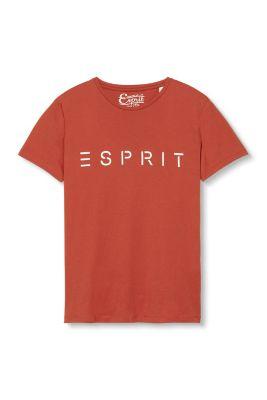 T-shirt à logo, en jersey, 100 % coton