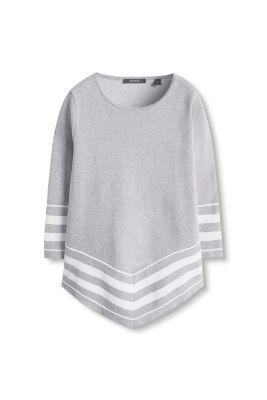 Sweat-poncho en coton
