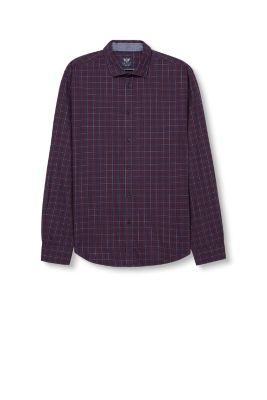 Chemise à carreaux en flanelle en coton