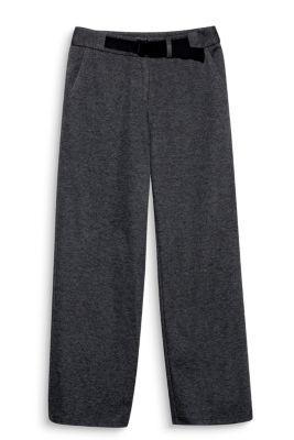 Pantalon jogger 7/8 en jersey
