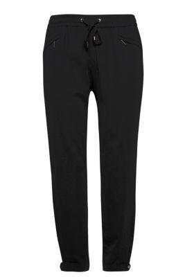 Pantalon de jogging féminin en crêpe