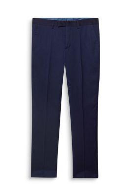 STRUCTURE BICOLORE Mix + Match : Pantalon texturé