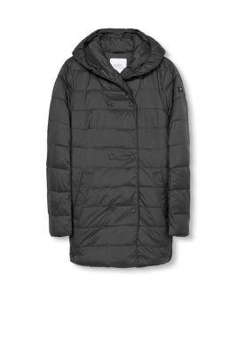 Manteau léger doublé de peluche