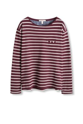 Sweater doux en coton stretch