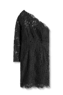 Robe asymétrique en dentelle