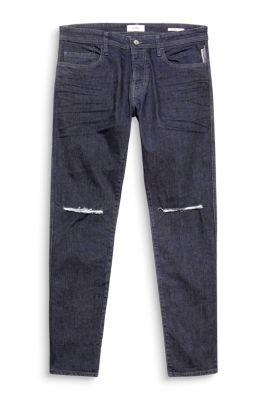 Destroyed skinny jeans met stretch