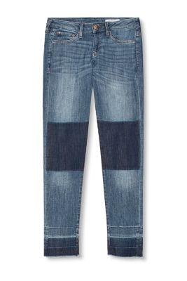 Jean stretch de style patchwork