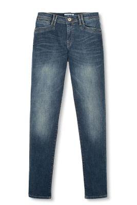 Jean stretch, poches à rabat