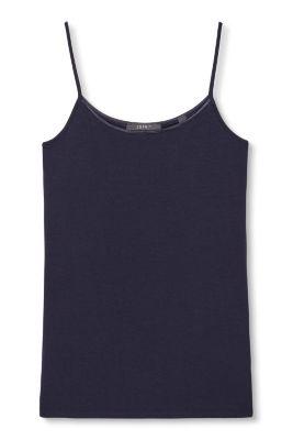 Haut basique en jersey stretch, à bretelles