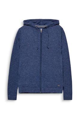 Veste à capuche 100 % coton
