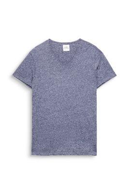 T-shirt basique en jersey, col V