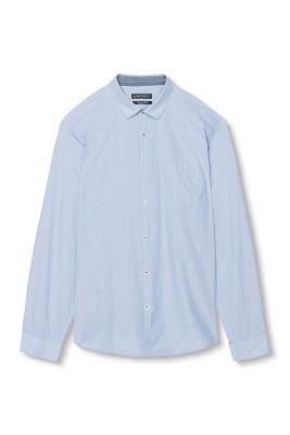 Chemise basique à rayures 100 % coton