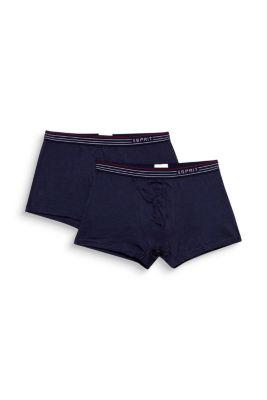 Lot de deux boxers basiques en coton