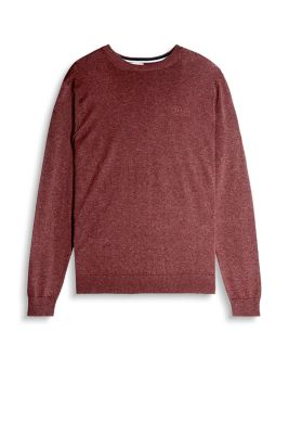 Pull-over en fine maille, 100 % coton