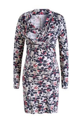 Robe d´allaitement en jersey imprimé