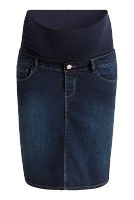 Jupe en jean stretch à ceinture de maintien