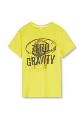 T-shirt à imprimé, 100 % coton