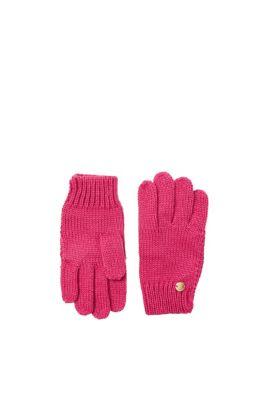 Handschoenen van zacht breisel