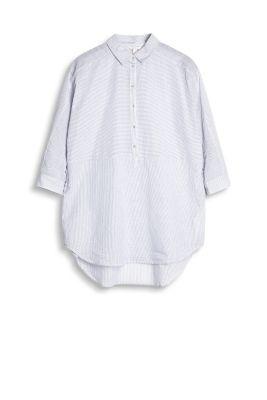 esprit leichte tunika bluse aus 100 baumwolle white. Black Bedroom Furniture Sets. Home Design Ideas
