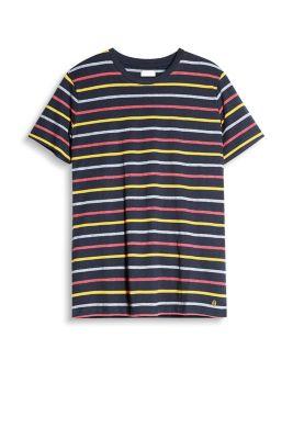 esprit jersey shirt mit bunten streifen navy g nstig schnell einkaufen. Black Bedroom Furniture Sets. Home Design Ideas